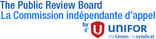 The Public Review Board